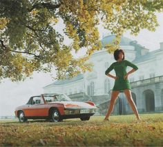 Girls Like Cars >> Porsche 914