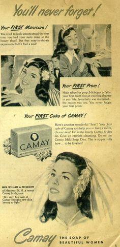 Vintage Camay Soap Ad