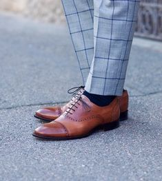 How To Style Semi-Brogue Oxfords