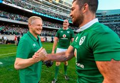Watch: Joe Schmidt's New Zealand-born daughter admits loyalty to Ireland in brilliant video from historic win - Independent. Leinster Rugby, Hot Rugby Players, British And Irish Lions, International Rugby, Irish Rugby, Australian Football, Rugby Men, Schmidt, Loyalty