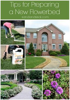 Whether you are planning garden beds, big or small, you will find these tips for preparing a new flower bed easy and helpful.