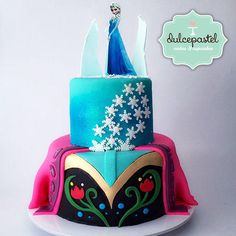 Torta Frozen Medellin Cake by Giovanna Carrillo