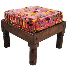 """Stool & Floor Pillow Small Pink...again minus the pink, but this could be a great alternative to having an ottoman...it's a """"coffee table"""" and """"comfy ottoman"""" all in one.  Love this."""