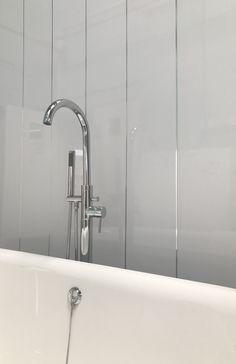 New Plastic Tiles for Bathroom Walls