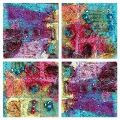 CAROLYN SAXBY MIXED MEDIA TEXTILE ART: Texture