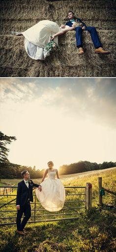 Rustic farm wedding, 2nd photo = perfect light. #weddingphotography