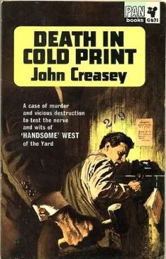 Death in Cold Print, John Creasey, from LJ: vintage_crime