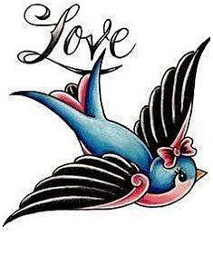 Bird Drawing Tattoo Ideen Old School 62 Ideen - . Swallow Bird Drawing Tattoo Ideen Old School 62 Ideen - . - -Swallow Bird Drawing Tattoo Ideen Old School 62 Ideen - . Tatoo Bird, Swallow Bird Tattoos, Bird Tattoo Meaning, Bluebird Tattoo, Tattoos With Meaning, Skink Tattoo, Tattoo Motive, Tattoo Life, Inspiration Tattoos