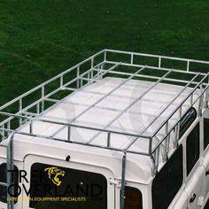 Land Rover Defender 110 Heavy Duty General Purpose Working Roof Rack - Brownchurch - LR11-95-110