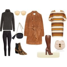 Retro by franchexx on Polyvore featuring Chloé, Hobbs, MANGO, H&M, Gucci, Tabitha Simmons, Linda Farrow, suede and 70sstyle