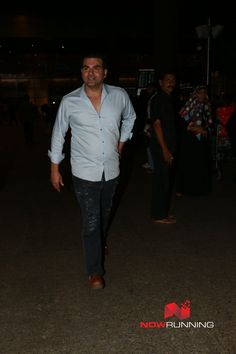Arbaaz Khan snapped at the airport