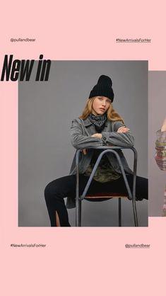 Girl Names Discover Web Design, Email Design, Layout Design, Design Trends, Moda Instagram, Instagram Design, Poster Layout, Fashion Graphic Design, Graphic Design Inspiration