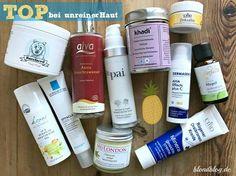 Natürliche Gesichtspflege für unreine Haut