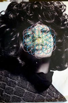 Embroidery on photo mag!!