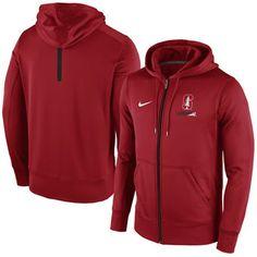 Nike Stanford Cardinal Sideline KO Fleece Full Zip Therma-FIT Hoodie #stanford #cardinal #college