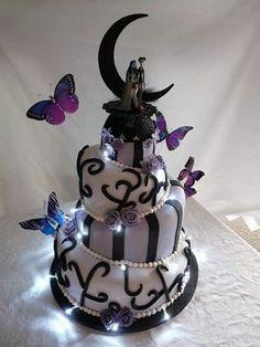 Goth / Wiccan Cake
