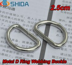 "Cheap hardware shutters, Buy Quality hardware furniture directly from China hardware setting Suppliers: 	50pcs 1"" Inches 25mm Metal D Type Ring Buckle Hardwares Accessories for 1"" Webbing, Purse Bags, Backpack and"