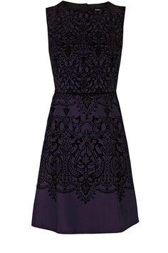 Flocked dress, £68, oasis-stores.com