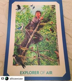 """I love this interpretation and intention setting by @allicawcaw! ... Repost @allicawcaw  Tarot Guidance from GAIAN TAROT.  What teaching should I hold over the course of this week's Crisis Intervention Training? .... EXPLORER of AIR. """"Affirmation: I climb high in order to get perspective and take the long view. Teaching: The Explorer's birds eye view shows him unity where others see separation... She offers intuition and insight and is eager to investigate alternative ways of doing things…"""