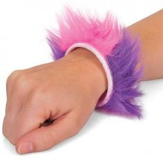 Furry Snap Bracelet