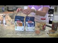 An easy and simple recipe you can make for your dog. Healthy and hypoallergenic