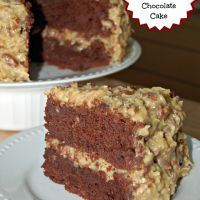 German Chocolate Cake   Five Little Chefs