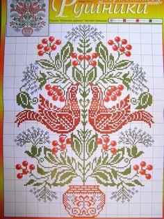 Ukrainian Cross stitch Embroidery Pattern for Gift: Towel - Rusnyk, Napkin, Tablecloth. Languages : Ukrainian. | eBay!
