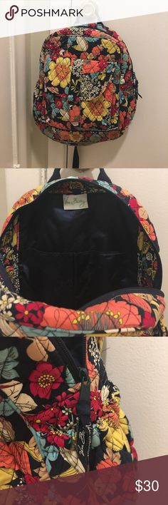 Vera Bradley backpack What a great pattern!!! One of my favs. Quilted, soft, vibrant colors that scream fall. Vera Bradley Bags Backpacks