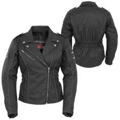 POKERUN - Women's Mirage Textile Motorcycle Jacket - Waterproof - Street - Jackets - Women's - Cycle Gear