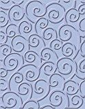 Cuttlebug A2 Embossing Folder, D'vine Swirls