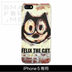 カスタムカバー iPhone 5 FELIX THE CAT(FELIX the Street))【メール便発送可能】【楽天市場】