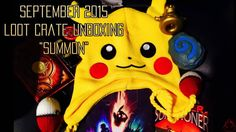 "September 2015 ""SUMMON"" Loot Crate Unboxing With Matt - http://www.entertainmentbuddha.com/september-2015-summon-loot-crate-unboxing-with-matt/"