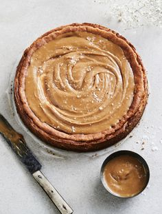 Suolakinuski-juustokakku | Juhli ja nauti, Makea leivonta | Soppa365 Sweet Pastries, Cheesecakes, Peanut Butter, Pudding, Candy, Baking, Desserts, Recipes, Food
