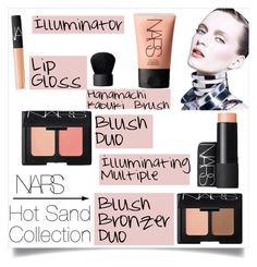 """""""NARS: Hot Sand Collection"""" by sheetal2002 ❤ liked on Polyvore featuring beauty and NARS Cosmetics"""
