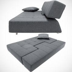 ツ by iSantano - Long Horn Deluxe Convertible Sofa