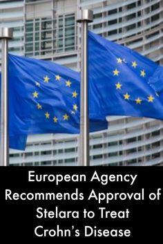 European Agency Recommends Approval of Stelara to Treat Crohn's Disease #IrritableBowelDiseaseNews