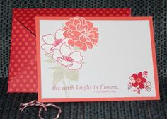 Sealed with Love Paired with Fabulous Florets by heartwig - Cards and Paper Crafts at Splitcoaststampers