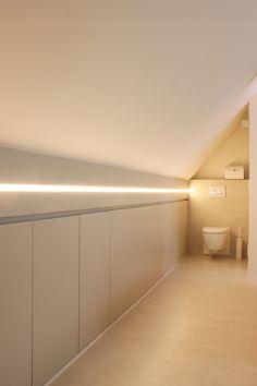 studio k - inrichten zolderruimte tot slaapsuite 2012 (interieur, interior, zolder, attic, opbergruimte, ingewerkte verlichting, toilet)