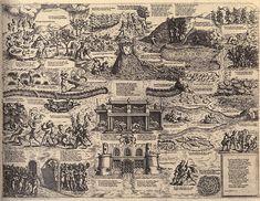 Map of Cockaigne, Niccolop Nelli,1564