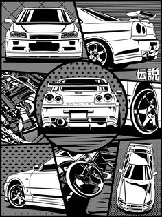 Car Wallpaper For Mobile, Jdm Wallpaper, Cool Sports Cars, Cool Cars, Nissan Skyline, Skyline Gtr, Dbz Wallpapers, Cool Car Drawings, Weird Cars