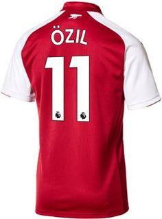 bcc2b89451f 2017 18 Puma Arsenal Mesut Ozil Home Jersey. Buy it from www.soccerpro