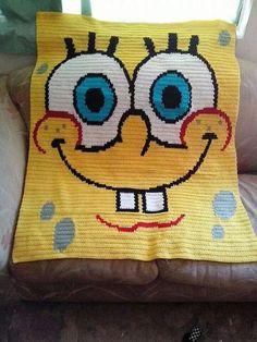 Spongebob blanket.