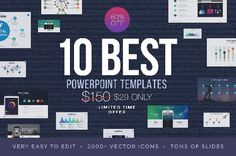 Best Powerpoint Templates of 2017 - Professional Powerpoint Designs ❖ ♦♦ If you buy this bundle you will get FREE 2,500+ vector icons as bonus ♦♦ [contact me after the purchase with your receipt at slideprodesign@gmail.com] A value of $150 if you purchase separately. Get your copy today for only $29 This powerpoint bundle isn't just a bunch of slides created without any thought or purpose. Each slide is proven useful in real-world presentations. Screenshots of the all presentation templates: