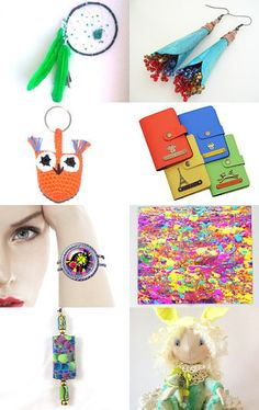 Colorful world!!! by Patty on Etsy--Pinned with TreasuryPin.com