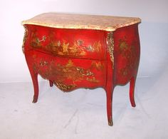Antique, Chinese Louis XV Style Commode (c. 1900 England) from Summers Davis Antiques Ltd | The UK's Premier Antiques Portal