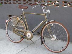 Old Gazelle Impala dutch bike at Flying Pigeon LA