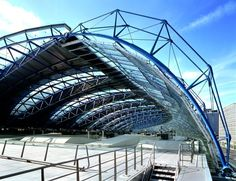 Waterloo International Station roof, London