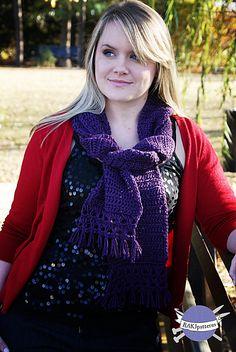 Ravelry: Claudia Scarf pattern by RAKJpatterns/Kristi Simpson