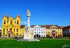 Springtime - Piata Unirii, Timisoara   © Alfageac Photography Romania, Spring Time, Mansions, House Styles, Photography, Home Decor, Photograph, Decoration Home, Manor Houses