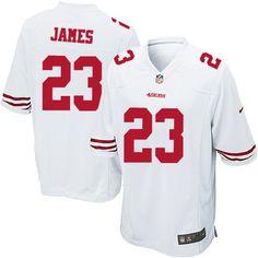 LaMichael James Jersey  Authentic 49ers Women s Youth Kids Mens Nike ... a6d16d65d